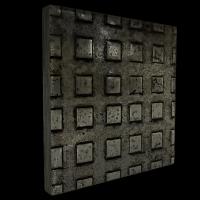squared iron