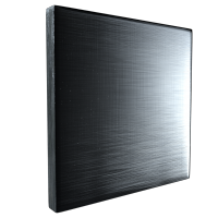 brushed steel